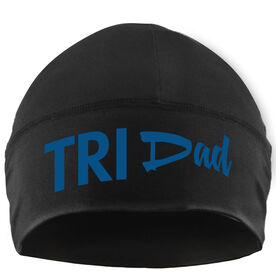 Run Technology Beanie Performance Hat - Tri Dad
