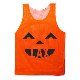 Guys Lacrosse Pinnie - Pumpkin Lax