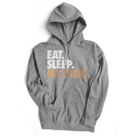 Fly Fishing Standard Sweatshirt Eat. Sleep. Fly Fish.