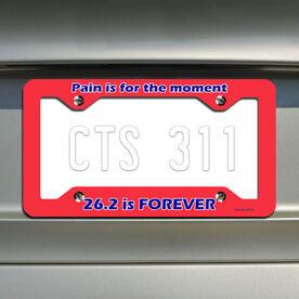 26.2 is Forever License Plate Holder