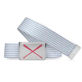 Softball Lifestyle Belt Softball Stripes