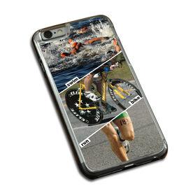 Triathlon iPhone® Case Swim Bike Run (Picture)