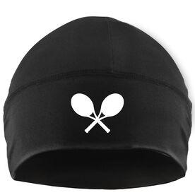 Beanie Performance Hat - Crossed Tennis Rackets