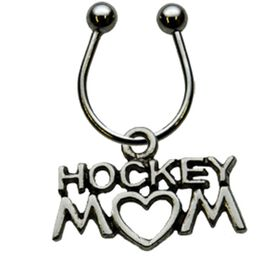 Hockey Mom Keychain