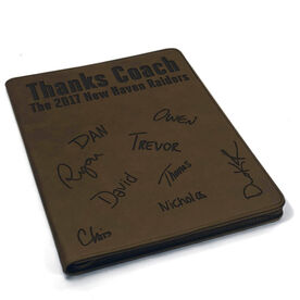 Cross Country Executive Portfolio - Thanks Coach with Signatures