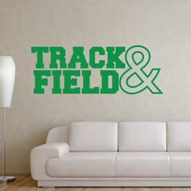 Track & Field Removable GoneForaRUNGraphix Wall Decal