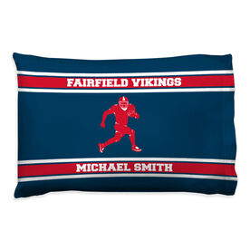 Football Pillowcase - Personalized Running Back