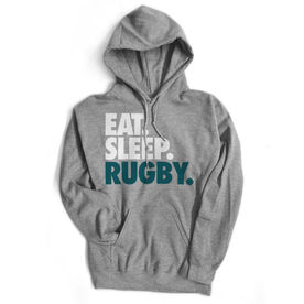 Rugby Standard Sweatshirt Eat. Sleep. Rugby.