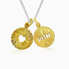 Livia Collection 14K Gold Vermeil Run Joy Necklace