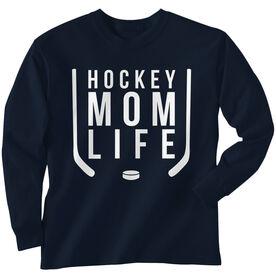 Hockey Long Sleeve T-Shirt - Hockey Mom Life