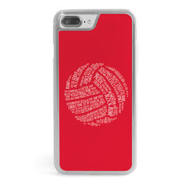 Volleyball iPhone® Case - Words