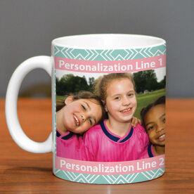 Soccer Ceramic Mug Custom Photo With Pattern