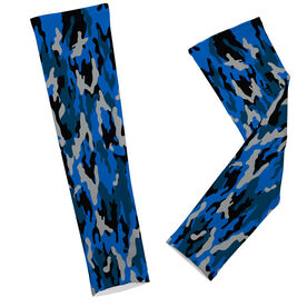 Skiing & Snowboarding Printed Arm Sleeves - Camouflage