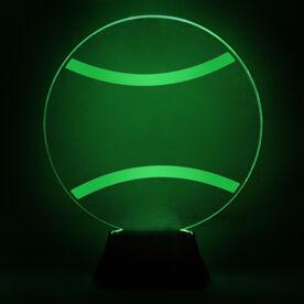 Tennis Acrylic LED Lamp Tennis Ball