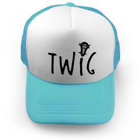Guys Lacrosse Trucker Hat - Twig