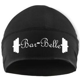 Beanie Performance Hat - Bar Belle (White Lettering)