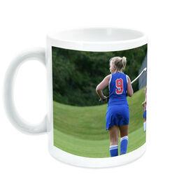 Field Hockey Ceramic Mug Custom Photo