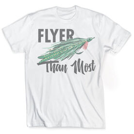 Vintage Fly Fishing T-Shirt - Flyer than Most