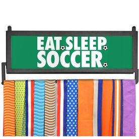 AthletesWALL Medal Display - Eat Sleep Soccer
