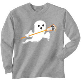 Lacrosse Long Sleeve T-Shirt - Ghost