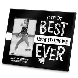 Figure Skating Photo Frame Best Figure Skating Dad Ever