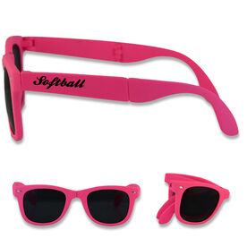 Foldable Softball Sunglasses Softball