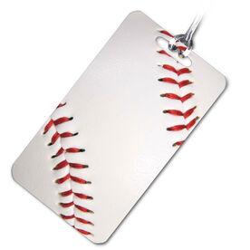 Baseball Bag/Luggage Tag Baseball Graphic