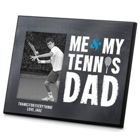 Tennis Photo Frame Me & My Tennis Dad