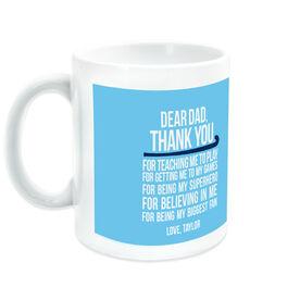 Field Hockey Ceramic Mug Dear Dad