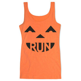 Women's Athletic Tank Top Pumpkin Run