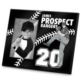 Baseball Photo Frame Custom Pitcher
