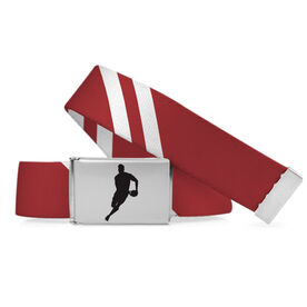 Rugby Lifestyle Belt Diagonal Stripes