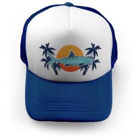 Fly Fishing Trucker Hat Bonefish Sunset