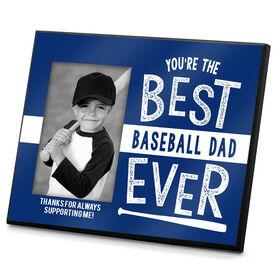 Baseball Photo Frame Best Baseball Dad Ever