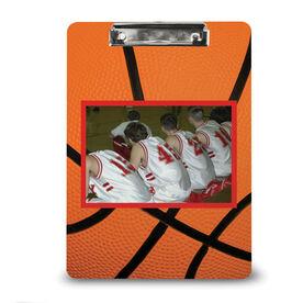 Basketball Custom Clipboard Basketball Your Photo Pattern