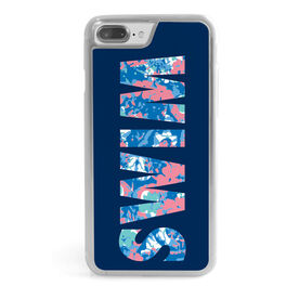 Swimming iPhone® Case - Floral Swim