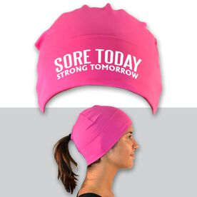 Performance Ponytail Cuff Hat Sore Today Strong Tomorrow