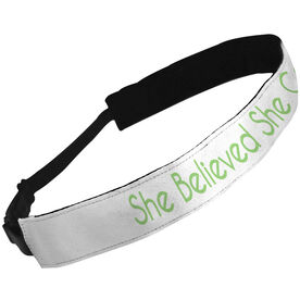 Julibands No-Slip Headbands She Believed She Could So She Did