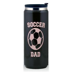 Stainless Steel Travel Mug Soccer Dad