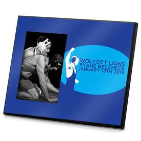 Wrestling Photo Frame Personalized Wrestler