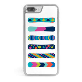 Snowboarding iPhone® Case - Snowboards Colorful