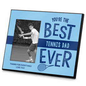 Tennis Photo Frame Best Tennis Dad Ever