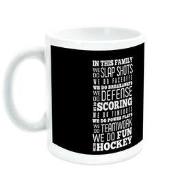 Hockey Ceramic Mug We Do Hockey