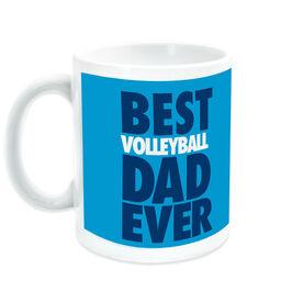 Volleyball Ceramic Mug Best Dad Ever