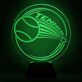 Tennis Acrylic LED Lamp Forehand