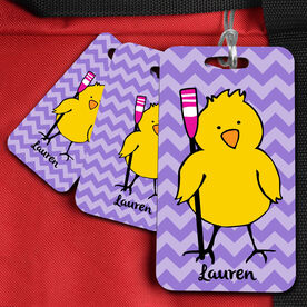 Crew Bag/Luggage Tag Rowing Chick