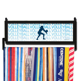AthletesWALL Volleyball Fade Medal Display