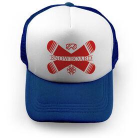 Snowboarding Trucker Hat - Crest