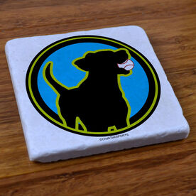 Baseball Dog - Stone Coaster