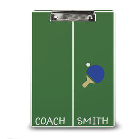 Ping Pong Custom Clipboard Ping Pong Your Name